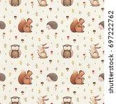 Illustrations Of Cute Animals....
