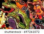 aomori  japan   february 16... | Shutterstock . vector #697261072