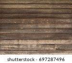 wood texture background  ... | Shutterstock . vector #697287496