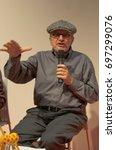 Small photo of Guillermo Mordillo, aka Mordillo, argentinian cartoonist / comic artist and animator, at the Frankfurt Bookfair 2012