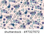 seamless simple pattern with... | Shutterstock .eps vector #697327072
