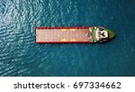offshore supply vessel at open...   Shutterstock . vector #697334662