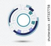 vector illustration.business... | Shutterstock .eps vector #697337758