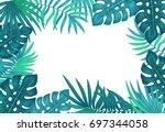 Exotic Tropical Jungle Floral...