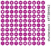 100 logistic and delivery icons ...
