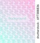abstract pastel gradient... | Shutterstock .eps vector #697388836