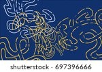 abstract background with... | Shutterstock .eps vector #697396666