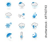 Cool  Simple Weather Icon Set