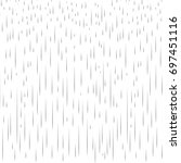 rain pattern. rainy day autumn... | Shutterstock .eps vector #697451116
