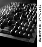 old abacus | Shutterstock . vector #697472662