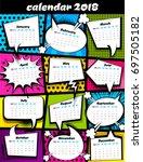 business planer scheduler date  ... | Shutterstock .eps vector #697505182