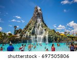 usa. florida. orlando. august ... | Shutterstock . vector #697505806