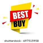 banner best buy | Shutterstock .eps vector #697515958