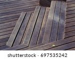 wooden stairs and wooden floor