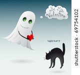 st. valentines day related... | Shutterstock .eps vector #69754102