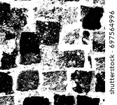 abstract grunge background in... | Shutterstock . vector #697564996