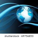 best internet concept of global ...   Shutterstock . vector #69756853