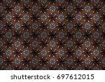 raster illustration. beautiful... | Shutterstock . vector #697612015