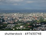 chiang mai city north of... | Shutterstock . vector #697650748