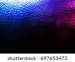 crocodile leather texture... | Shutterstock . vector #697653472