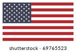 us flag | Shutterstock .eps vector #69765523