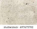 gray concrete wall texture. | Shutterstock . vector #697675702