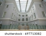 saint petersburg  russia  ... | Shutterstock . vector #697713082