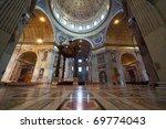 Indoor View Of Basilica Di San...