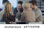 creative team of young...   Shutterstock . vector #697745998