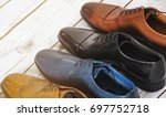 men shoes collection  ... | Shutterstock . vector #697752718