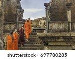 polonnaruwa  sri lanka   august ...   Shutterstock . vector #697780285