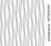 vector seamless pattern. modern ...   Shutterstock .eps vector #697829395