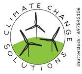 climate change solution...   Shutterstock .eps vector #697842106
