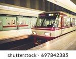 fukuoka  japan   september 24 ... | Shutterstock . vector #697842385