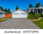 garage  garage doors and... | Shutterstock . vector #697973995