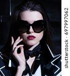 fashionable shooting of luxury...   Shutterstock . vector #697997062