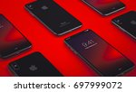 cupertino  usa   17 august 2017 ... | Shutterstock . vector #697999072