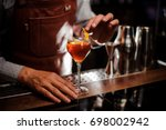 alcohol drinks  people and... | Shutterstock . vector #698002942