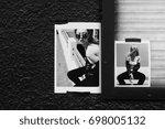 portrait shooting of a... | Shutterstock . vector #698005132