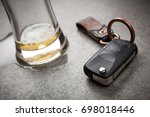 drunk driving concept   Shutterstock . vector #698018446