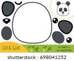 education paper game for... | Shutterstock .eps vector #698041252