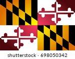 isolated vector flag of... | Shutterstock .eps vector #698050342