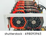 videocards for the crypto... | Shutterstock . vector #698093965