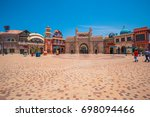 dubai  united arab emirates... | Shutterstock . vector #698094466