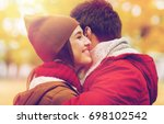 love  relationships  season and ... | Shutterstock . vector #698102542