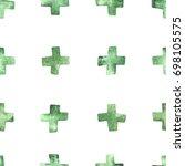 seamless watercolor pattern...   Shutterstock .eps vector #698105575
