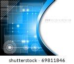 futuristic fantasy background   ... | Shutterstock .eps vector #69811846