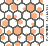 seamless geometric pattern.   Shutterstock .eps vector #698127886