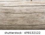 dark texture of old natural... | Shutterstock . vector #698132122