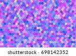 light pink vector modern...   Shutterstock .eps vector #698142352